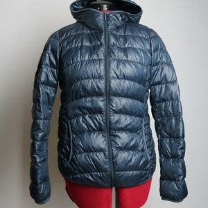 Uniqlo Puffer Hooded Jacket Light Weight Size S